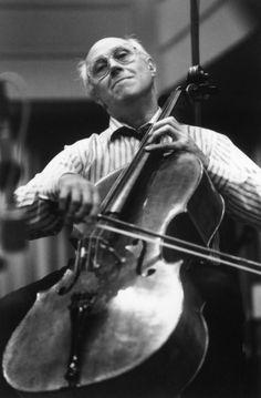 Mstislav Rostropovich.