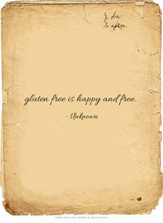 gluten free is happy and free..#naplesflrealestate http://www.thegulfcoastgroup.com