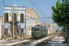 Caminos de Ferro: Paul Van Baarle y el Trenet de Valencia