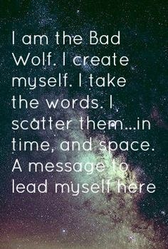 Rose Tyler is the Bad Wolf