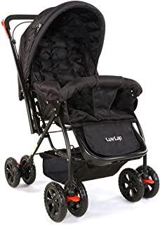 LuvLap Starshine Stroller/Pram, Easy Fold for Newborn Baby/Kids, Years (Black) Best Baby Strollers, Baby Inside, Rabbit Baby, Baby Prams, Baby Comforter, Baby In Pumpkin, Baby Store, Newborn Gifts, Baby Kids