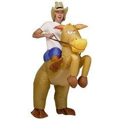 REGALOS-FRIKIS.COM: Disfraz de vaquero a caballo hinchable