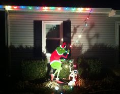 Grinch grinch grinch decorations and decoration grinch stealing lights aloadofball Image collections