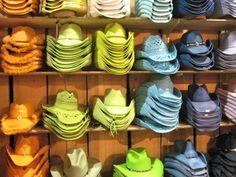 Calgary Stampede - Cowboy Hats I'll take one if each please Canada Travel, Canada Trip, Chuck Wagon, Banff, Day Trip, Calgary, Cowboy Hats, Rodeo, Fun Stuff