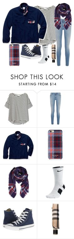 """""""Today's School Outfit"""" by thesabriner ❤ liked on Polyvore featuring Givenchy, Southern Proper, Isaac Mizrahi, Humble Chic, NIKE, Converse and Burberry"""