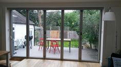 Bifold doors renovation ideas for our lounge to front yard