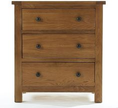 Holmfield Solid Oak Furniture Small Bedroom Chest Of Drawers