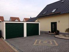 Garagen Bauen Dekoration : Garagentore mit fenstern