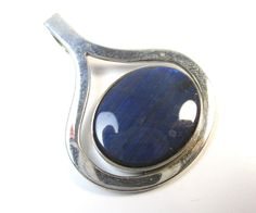 Kalevala Koru Designer Anhänger 925 Sterling Silber Spektrolith Finnland Vintage   eBay