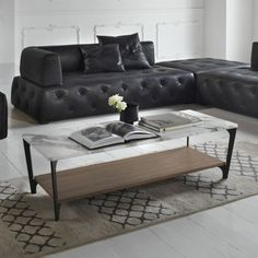 Soho Rectangle Coffee Table Soho Round Marble Co Oval Coffee Tables, Coffee Table Rectangle, Small Coffee Table, Coffe Table, King Furniture, Bedroom Furniture Design, Wood Furniture, Coffee Table Inspiration, Contemporary Furniture Stores