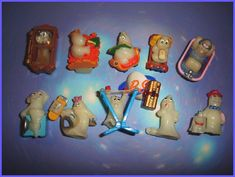 Kinder Surprise toys. I had the clock!
