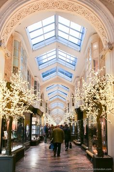 The highlights of the season can be seen in the London shopping arcades at Christmas. From Piccadilly to Mayfair, there's no shortage of festive cheer. Christmas In Britain, Christmas In England, English Christmas, London Christmas, Christmas Travel, Christmas Shopping, Christmas Time, Christmas Ideas, London Shopping