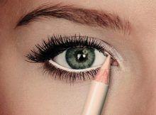 6 beauty tips to have bigger eyes – Makeup & Nail Ideas Eyeliner Hacks, Eyeliner Styles, How To Apply Eyeliner, Makeup Tips For Small Eyes, Basic Makeup, Eye Makeup Tips, Sparkly Eyeshadow, Grey Eyeshadow, Eyeshadow Palette