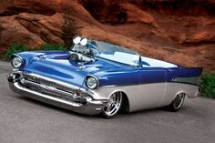 Custom '57 Chevy Bel Air