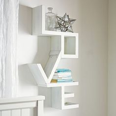 Home Office... DIY project for the hubby | Love Shelf #pbteen