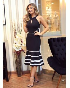 Short Dresses, Girls Dresses, Dresses For Work, Summer Dresses, Outfit Elegantes, Style Feminin, African Inspired Fashion, Chic Dress, Beautiful Outfits