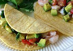 Shrimp & Avacado Tacos