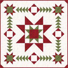 Star Chaser Quilt Pattern HMD-114 (advanced beginner, wall hanging, home decor & houseware)