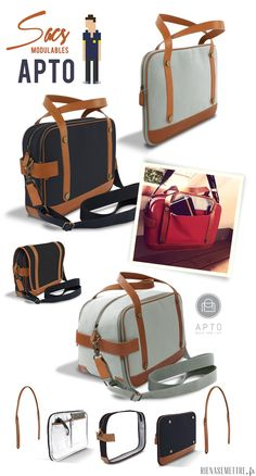 Les sacs et sacoches made in france Apto   HOMME   Guide Shopping : Rien A Se Mettre