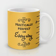 practically perfect in everyway, mary poppins, mug