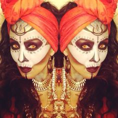 sexy witch doctor makeup - Google Search