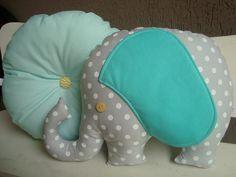Conjunto Almofadas Elefante Tiffany