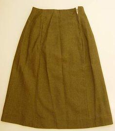 Click image for larger version. Name: Skirt, ATS, 1941 pattern Views: 82 Size: KB ID: 321277 Wwii, Larger, Skirts, Pattern, Image, Fashion, Moda, World War Ii, Skirt