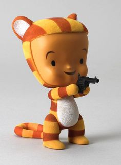 Tigerlily Vinyl Figure created by artist Tim Biskup