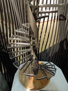 Miniature stair model by Amuneal.