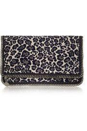 Stella's leopard clutch as seen on AFGG!