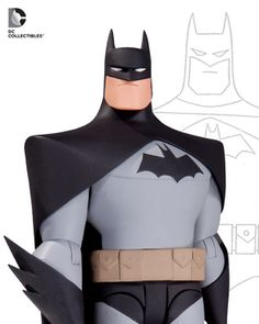 "DC Collectibles 6"" Batman The Animated Series Figures - 24 point articulation."