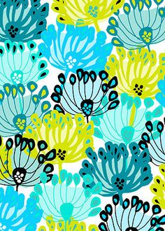 Pippa loves: this cool spring flower head pattern by the very talented Jocelyn Proust  www.jocelynproustdesigns.com.au