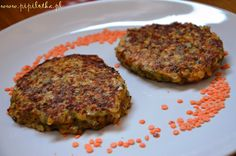 Kotletz Soczewicy2 Salmon Burgers, Quiche, Hamburger, Nom Nom, Healthy Eating, Soup, Dishes, Breakfast, Ethnic Recipes