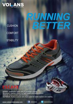 Escape Volans Running Shoes