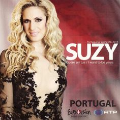 """Quero ser tua"" performed by Suzy. Portugal song by ESC 2014 #Cult"