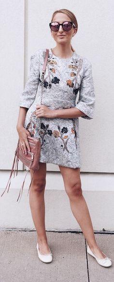 Floral Dress #Fashionistas