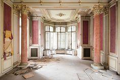 Abandoned chateau, France
