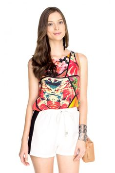 short listra lateral - Dress To - R$186