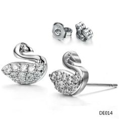 Shiny Swarovski Crystal Swan Shaped Stud Earring akezone,http://www.amazon.com/dp/B00F2C6S84/ref=cm_sw_r_pi_dp_tM0qtb0DWYWMYX2G