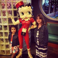 So glad to have these two lovely girls at Mel's diner! Don't forget to take a picture with Betty boop or Charlie chapman! #MelsDiner #SWFL #American #Restaurant #Diner #Breakfast #Brunch #Lunch #Dinner #DinerFood #Desserts #Drinks