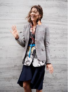 J.Crew women's schoolboy blazer in houndstooth. To preorder call 800 261 7422 or email erica@jcrew.com.
