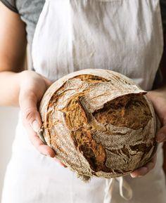 Sauerteig - Backen mit Christina Bread, Homemade, Cooking, Food, Simple, Homemade Breads, Kitchen, Home Made, Brot