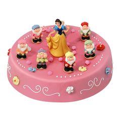 Gâteau blanche neige et les 7 nains livré chez vous ! Annikids