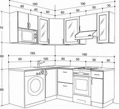 Industrial Kitchen Design, Kitchen Room Design, Best Kitchen Designs, Modern Kitchen Design, Home Decor Kitchen, Interior Design Kitchen, Kitchen Cabinets Drawing, Building Kitchen Cabinets, Kitchen Drawing