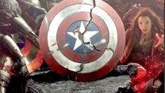 The Avengers 2: foto degli oggetti di scena in mostra al Comic-Con 2014
