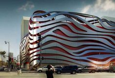 petersen automotive museum, los angeles | Los Angeles Building News - LA Architecture Developments