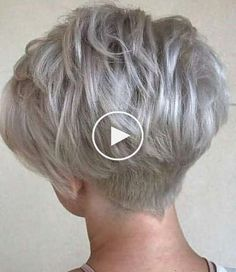 When I have short hair again. 2018 When I have short hair again. Short White Hair, Short Hair With Layers, Short Hair Cuts For Women, Modern Short Hair, Short Hairstyles For Thick Hair, Curly Hair Styles, Hairstyle Short, Short Haircut, Short Girl Haircuts