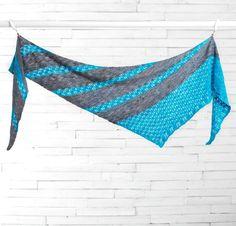 Ocean Bound by Melanie Berg Knit Shawl Kit - None