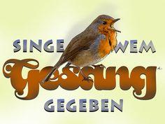 'Singe wem Gesang gegeben' von Dirk h. Wendt bei artflakes.com als Poster oder Kunstdruck $18.03