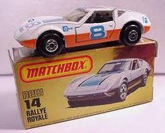 Matchbox Superfast #14 Rallye Royale (white+orange w/ blue 8)